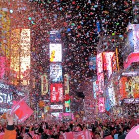 New Years Celebration in New York City